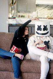 Selena Gomez x Marshmello Promo Photoshoot For New Single