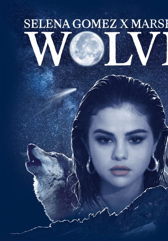 "Selena Gomez x Marshmello - ""Wolves"" Single Cover Art"