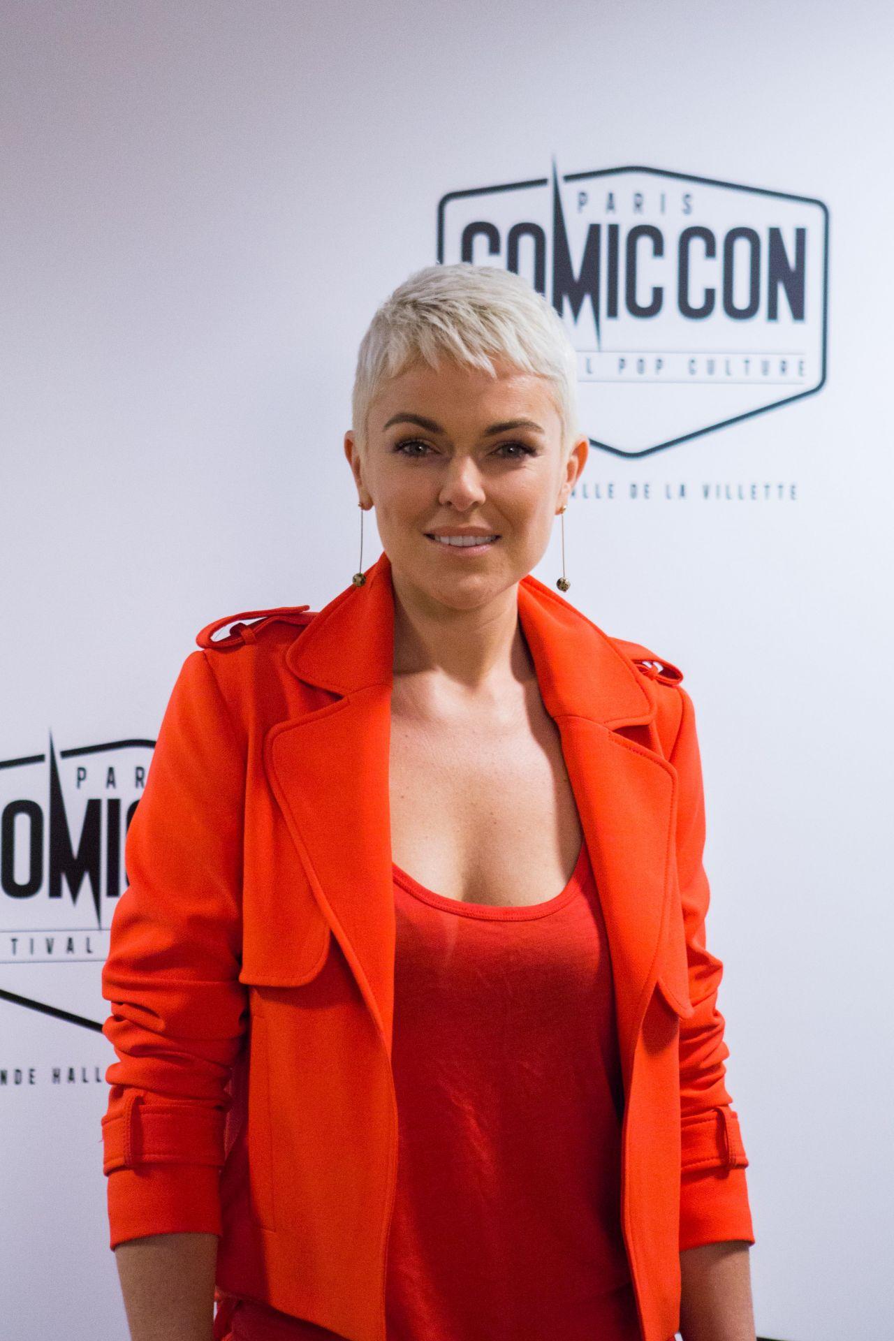 Serinda Swan - Comic Con Festival 2017 in Paris
