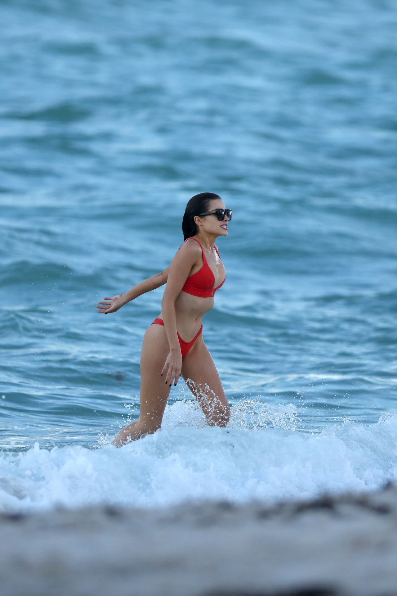 Shanina Shaik Caroline Lowe Olivia Culpo and Daniela Braga in Bikini Photoshoot in Miami Beach Pic 1 of 35