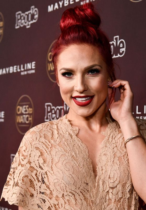 Sharna Burgess – PEOPLE's Ones to Watch Party in LA 10/04/2017