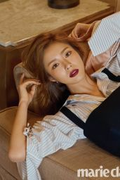 Shin Se Kyung - Marie Claire Magazine October 2017