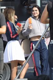 Sistine and Scarlet Stallone, Amelia Hamlin and Delilah Hamlin - Photoshoot in Santa Monica 10/15/2017