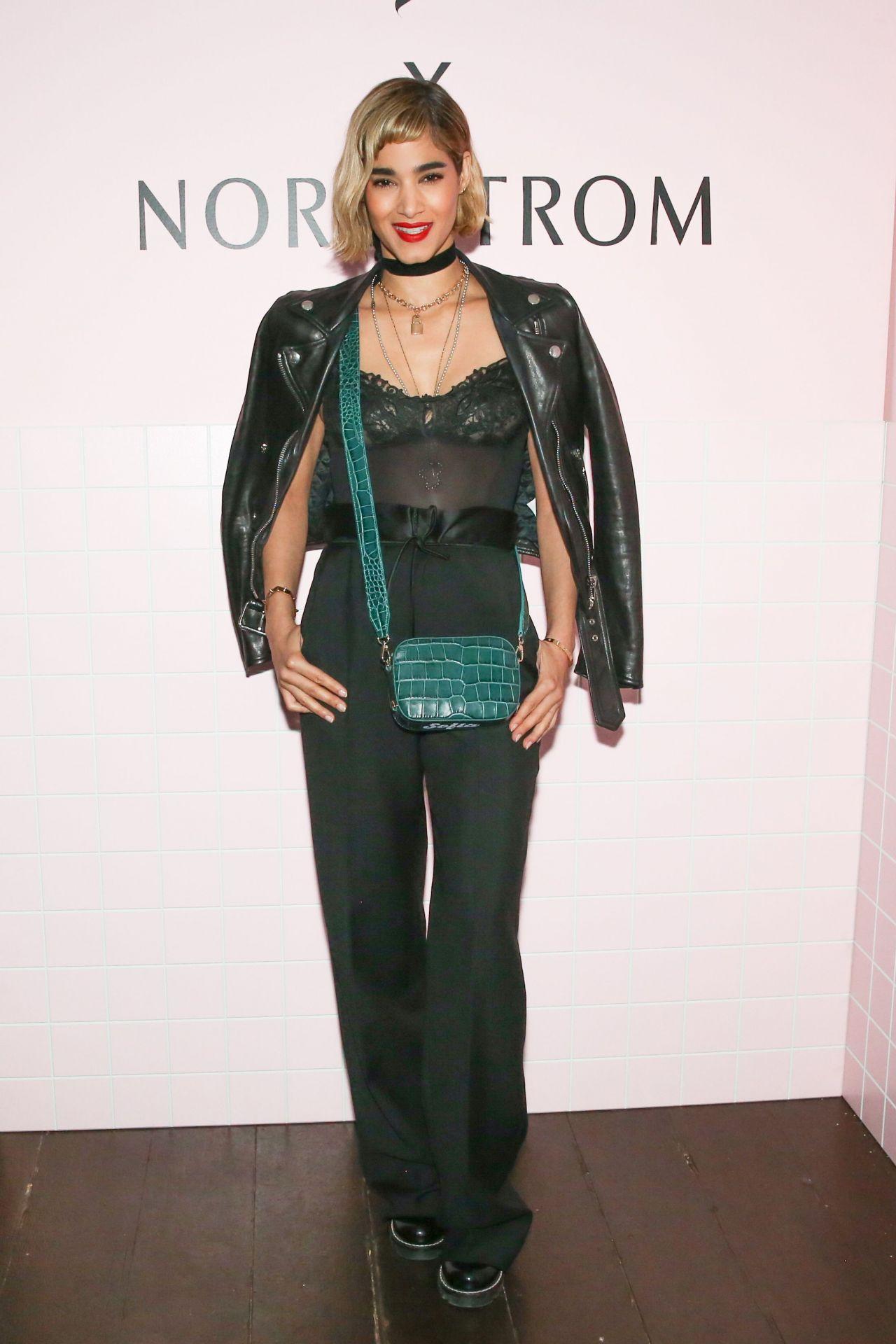 Sofia Boutella – Pop & Suki x Nordstrom Dinner in Los Angeles