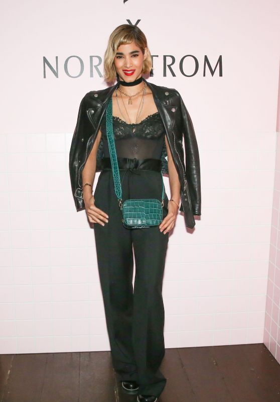 Sofia Boutella – Pop & Suki x Nordstrom Dinner in Los Angeles
