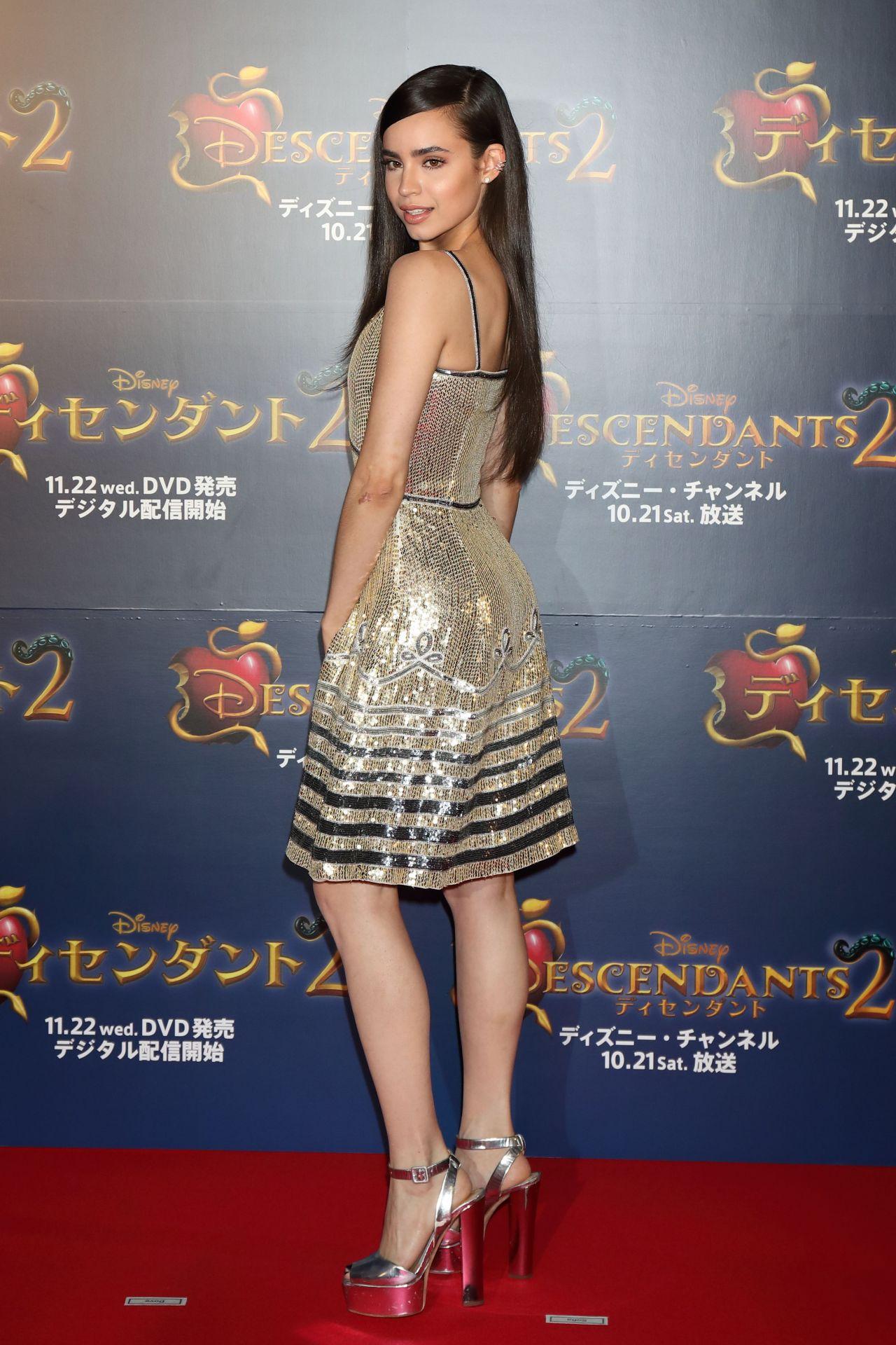 Sofia Carson Quot Descendants 2 Quot Premiere In Tokyo 10 12 2017