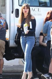Sofia Vergara - Modern Family Set in Los Angeles 10/17/2017