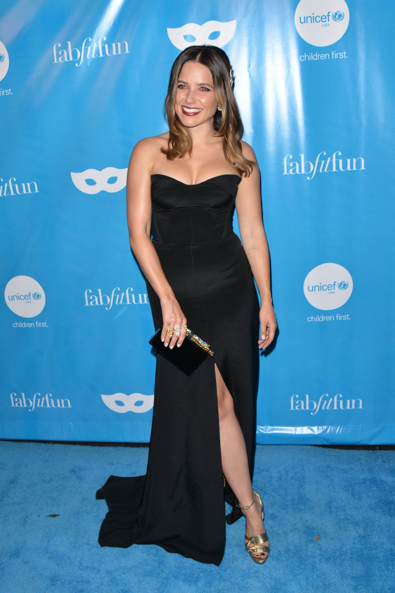 Sophia Bush – UNICEF Masquerade Ball in LA 10/27/2017