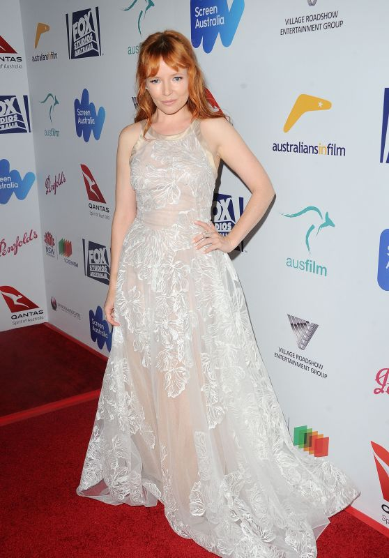 Stef Dawson – Australians in Film Awards Benefit Dinner in Los Angeles