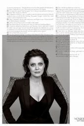 Susan Sarandon - Elle UK November 2017 Issue