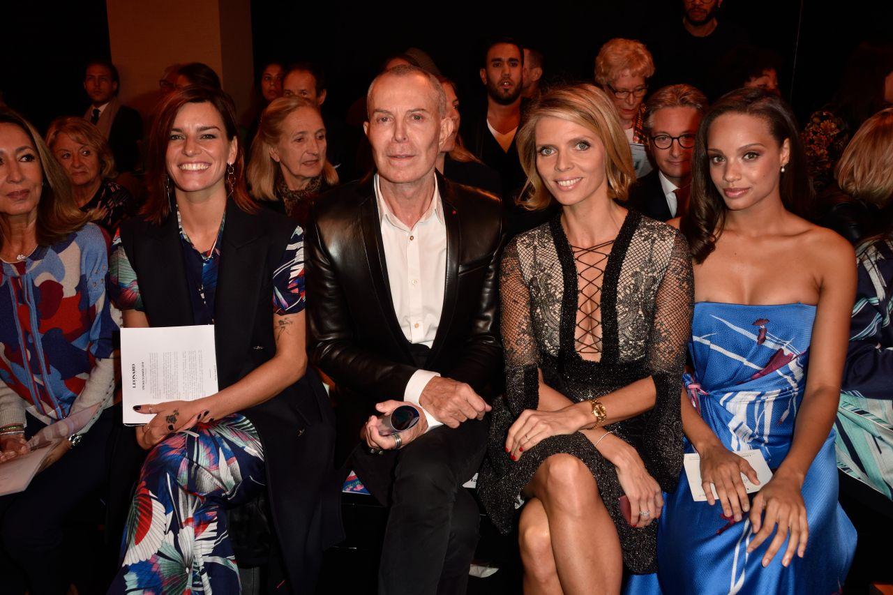 Sylvie Tellier - Leonard Paris Show, Paris Fashion Week 10/02/2017
