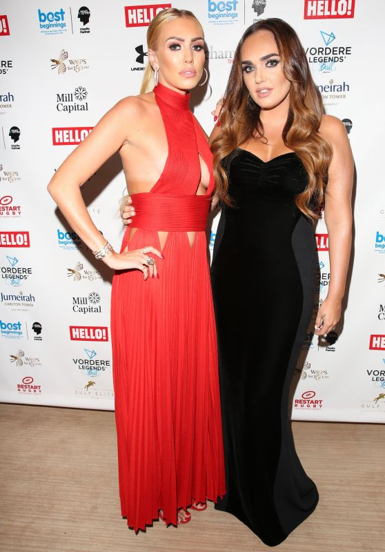 Tamara Ecclestone & Petra Ecclestone - Vordere Legends Ball in London 09/27/2017