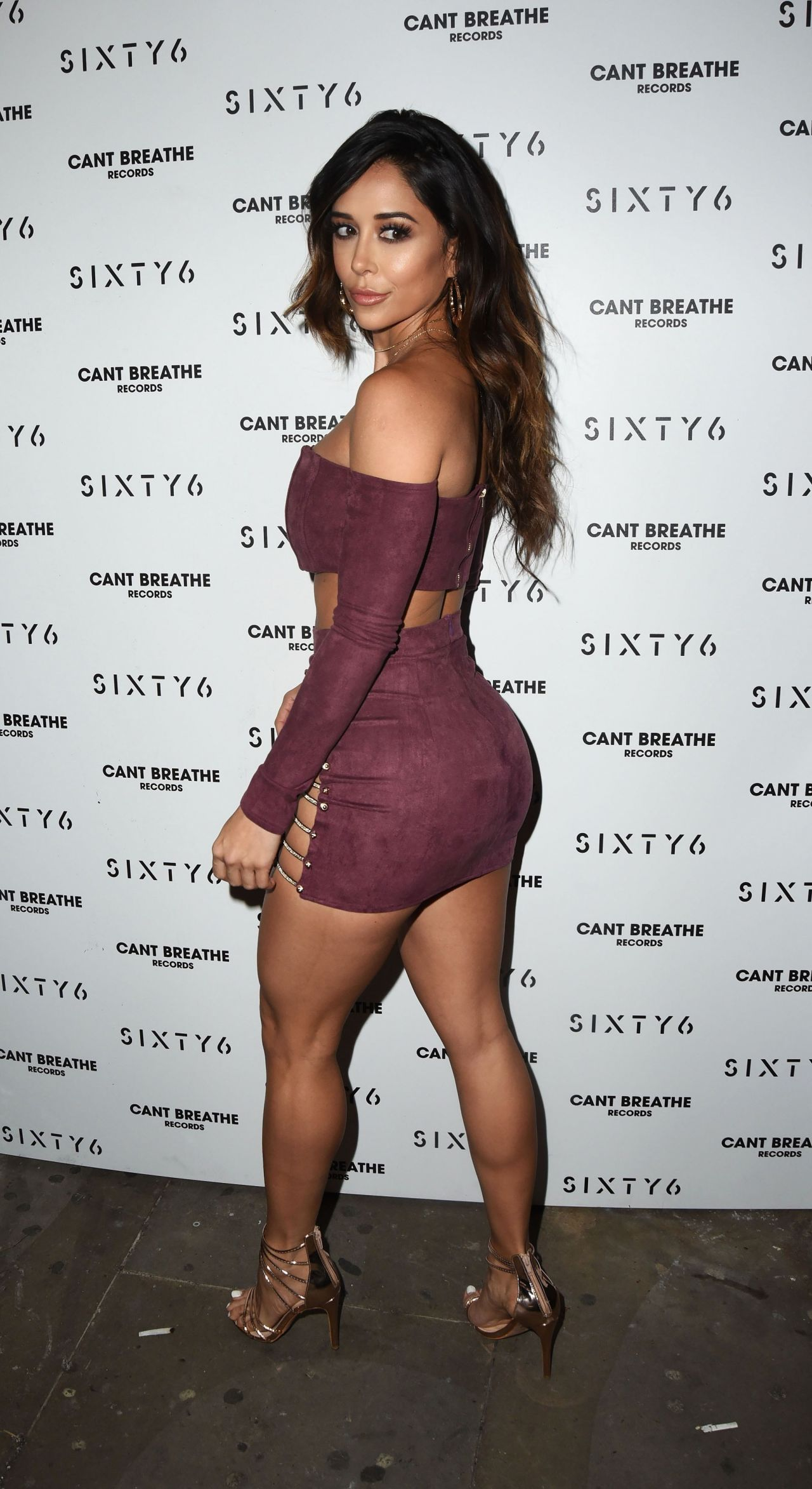 Tianna Gregory - SIXTY6 Magazine Launch Party in London