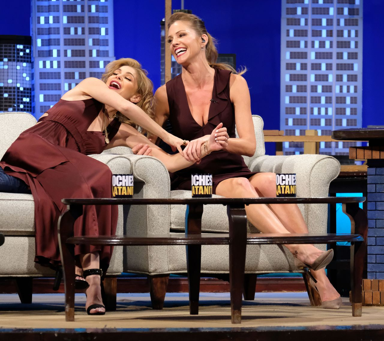 """Photo Lucifer Season 3 Tricia Helfer As The Mother: Promotes Her TV Show """"Lucifer"""" In Los Angeles"""