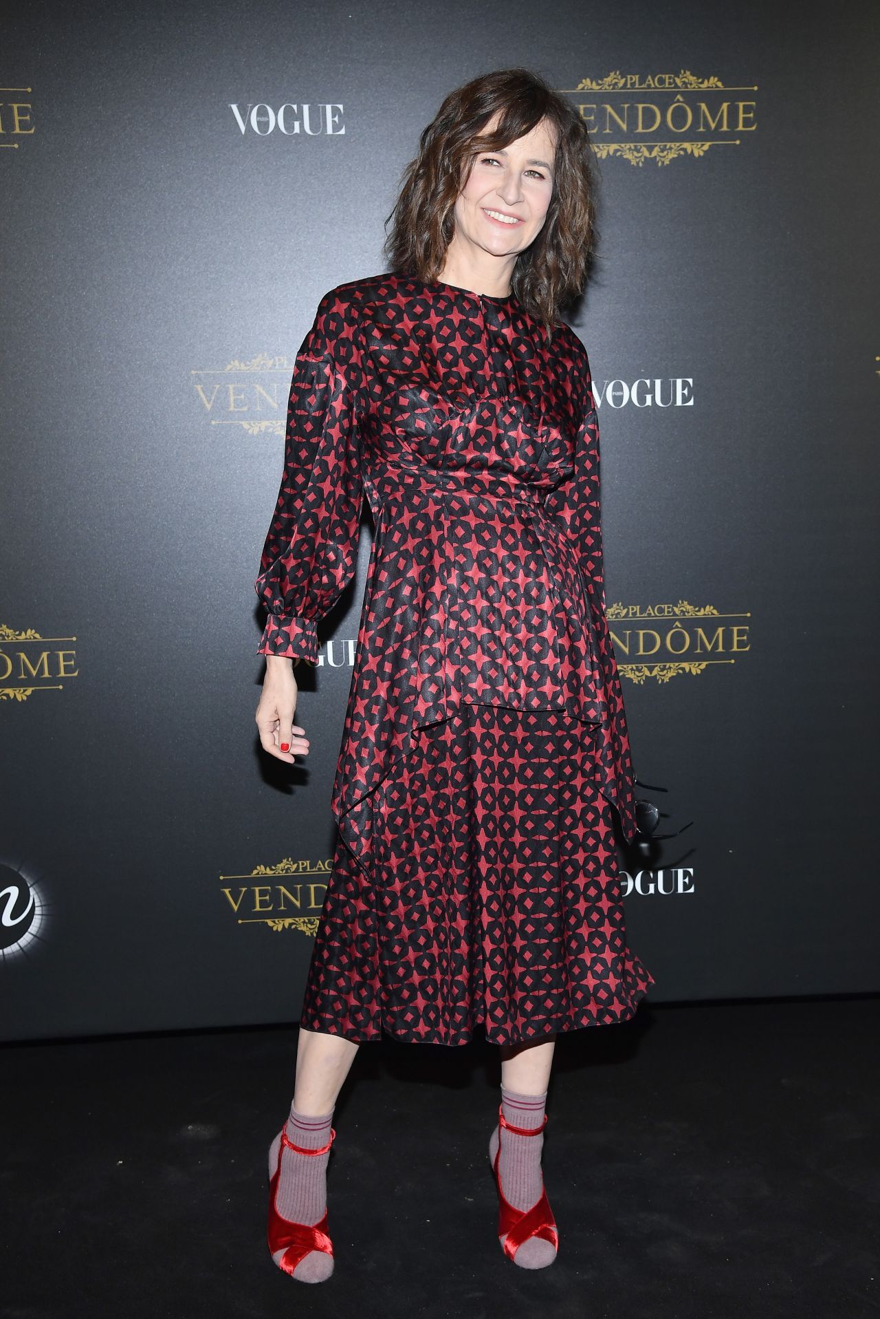 Valerie Lemercier Vogue X Irving Penn Party In Paris 10