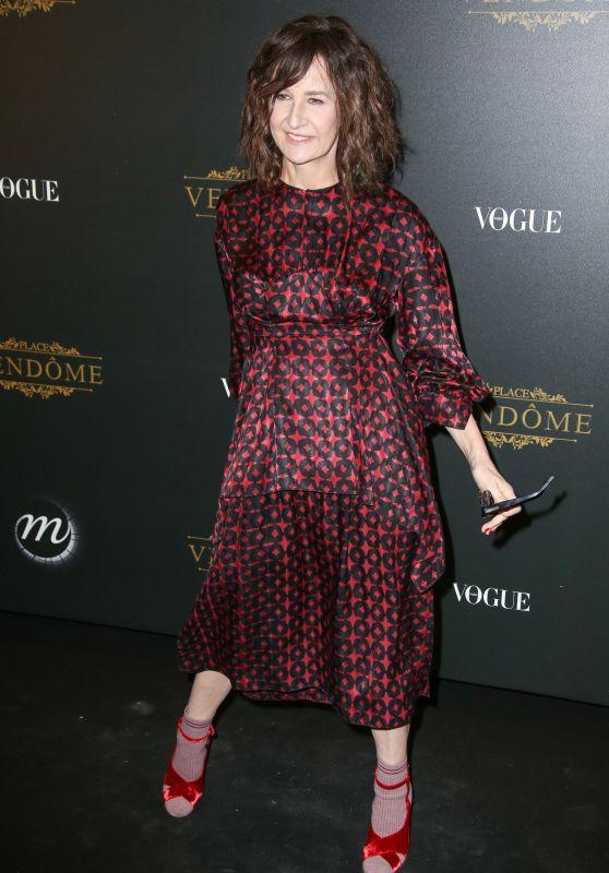 Valerie Lemercier – Vogue x Irving Penn Party in Paris 10/01/2017