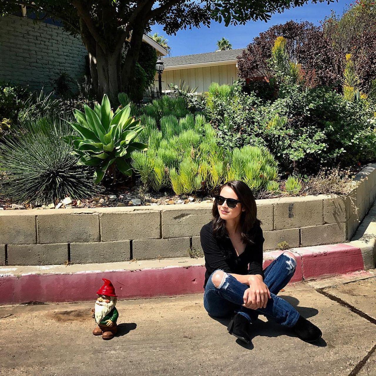 Vanessa Marano - Social Media Images 10/11/2017