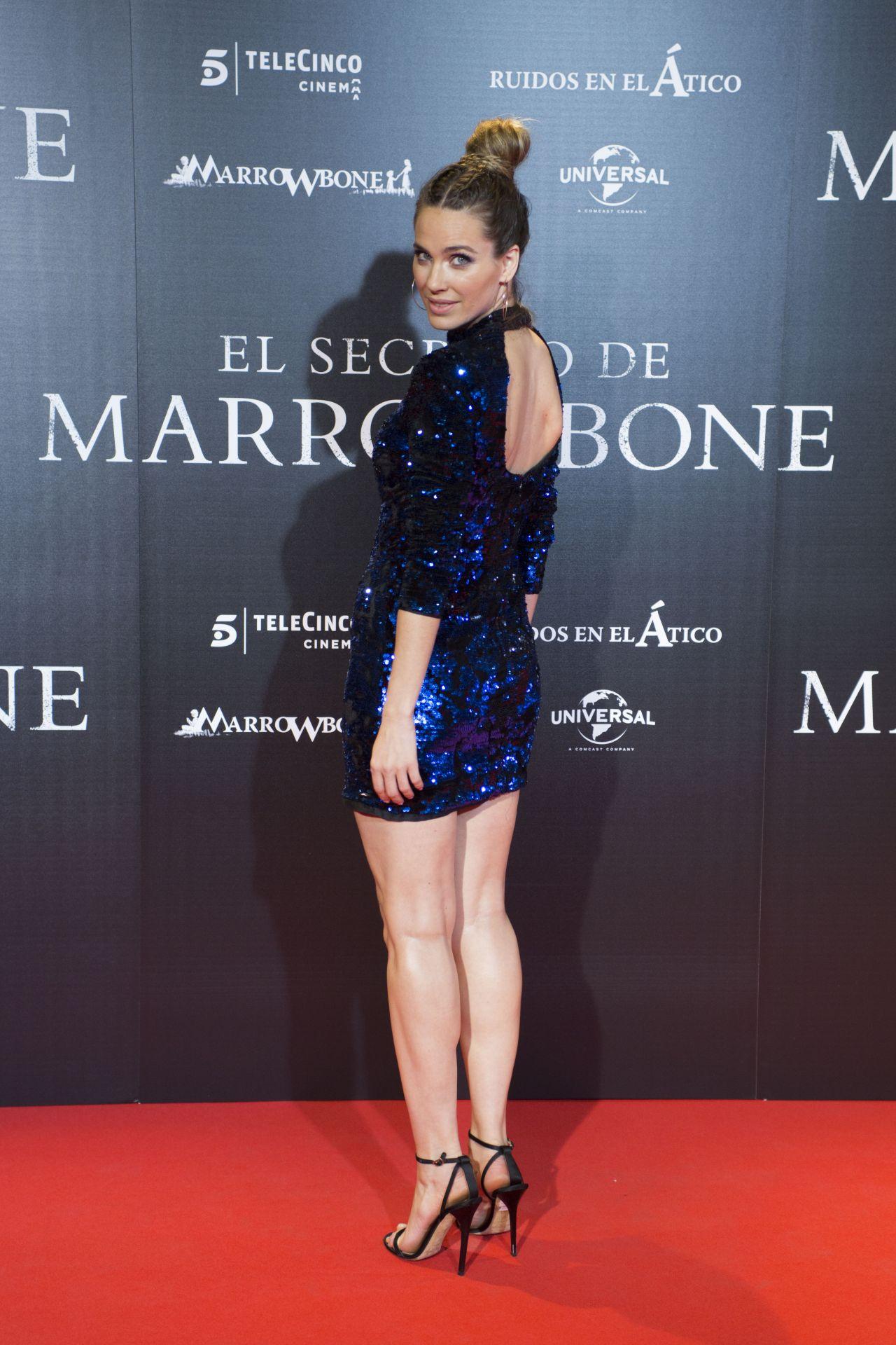 "Vanessa Romero - ""El Secreto de Marrowbone"" Premiere in Madrid"