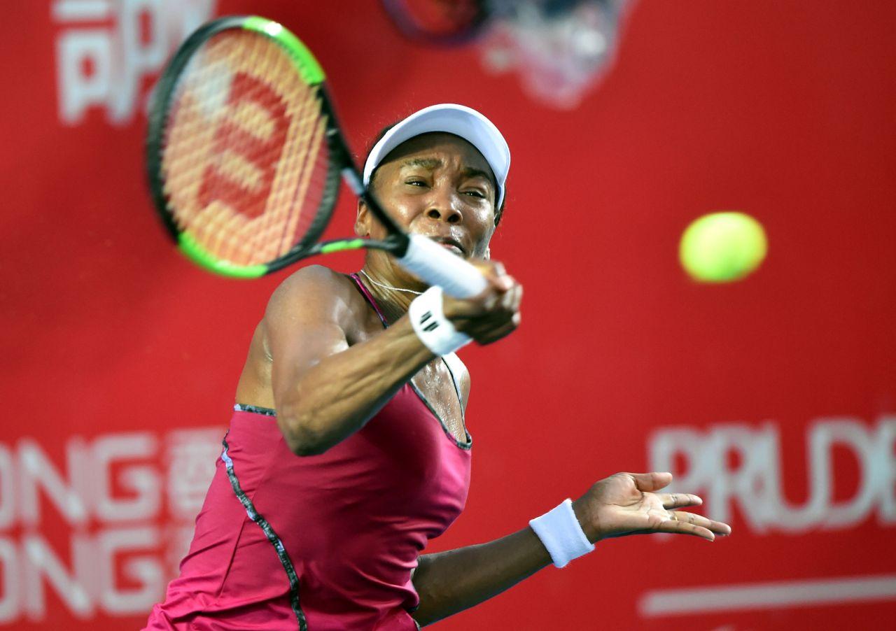Venus Williams - 2017 WTA Hong Kong Tennis Open in Hong Kong