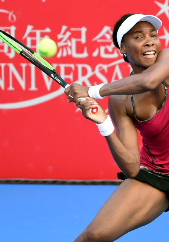 Venus Williams - 2017 WTA Hong Kong Tennis Open in Hong Kong