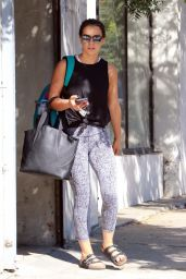 Victoria Arlen in Tights - Leaving the Dance Practice in Los Angeles 10/15/2017