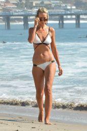 Victoria Hervey in Bikini Enjoying Her Birthday Weekend - Malibu Beach 10/07/2017