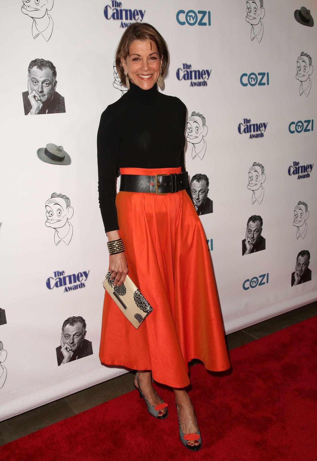 Wendie Malick – Carney Awards 2017 in Santa Monica