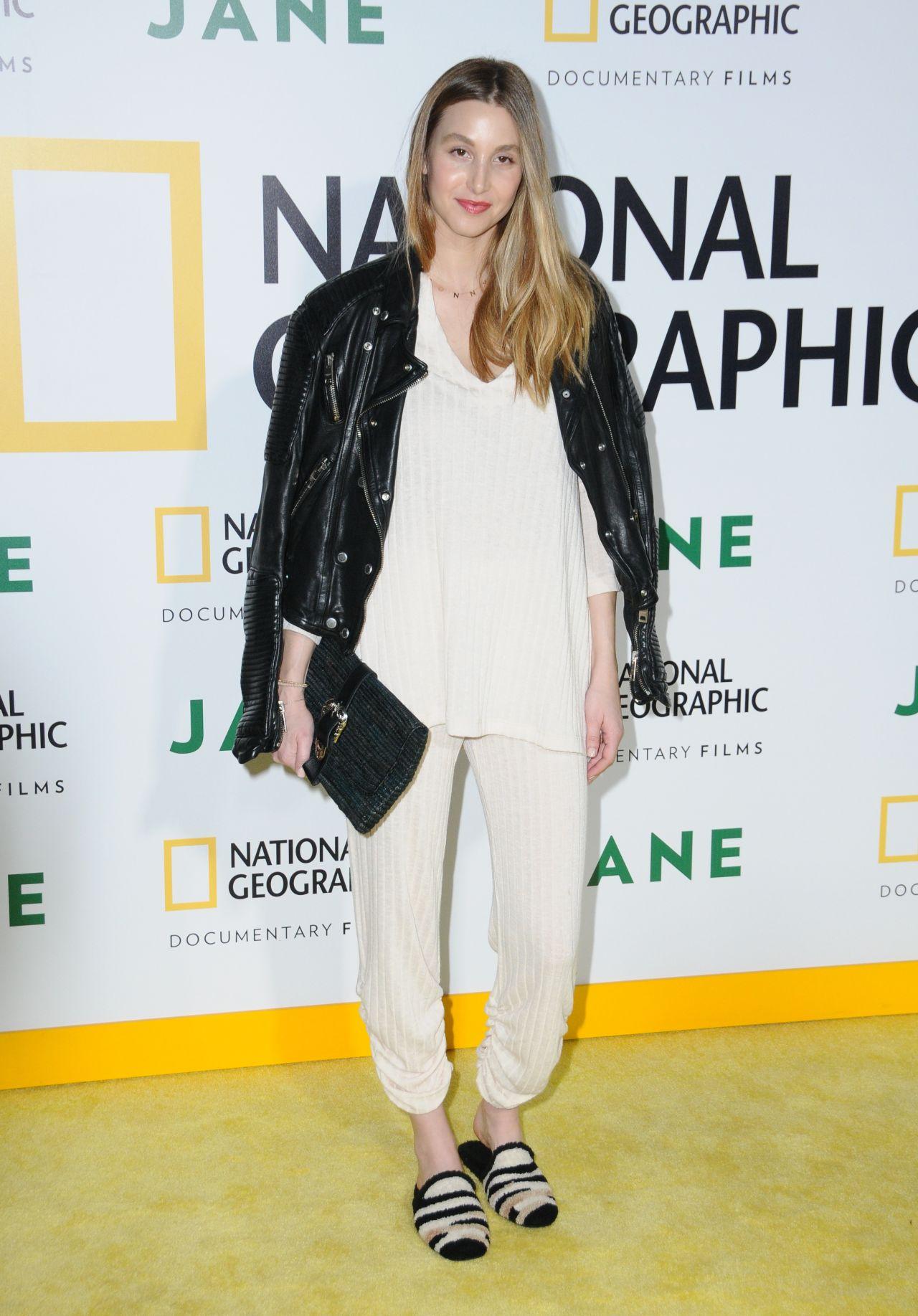 "Whitney Port – National Geographic Documentary Film's ""Jane"" Premiere in LA 10/09/2017"