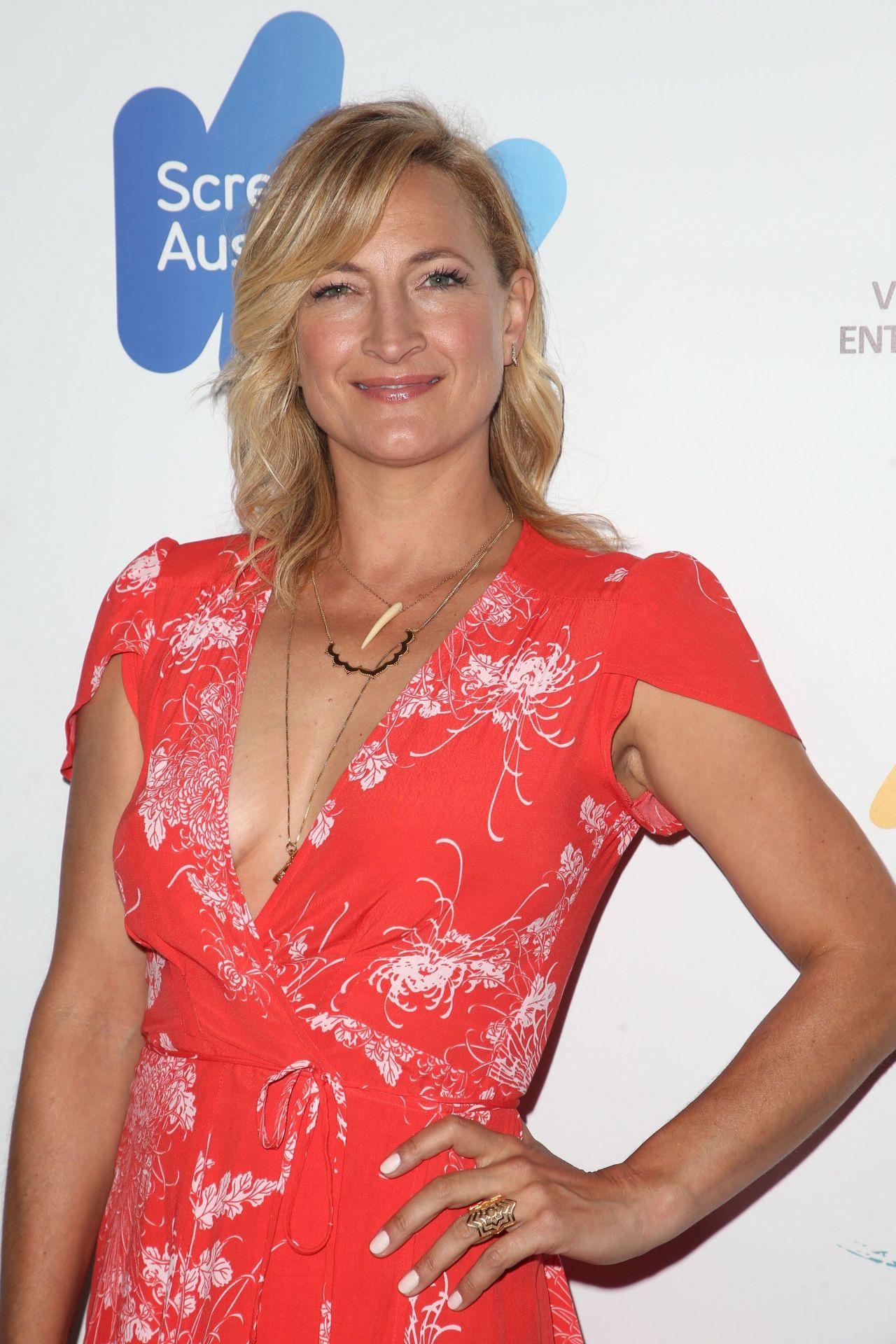 zoe bell australians in film awards benefit dinner in