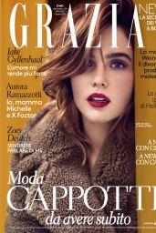 Zoey Deutch - Grazia Italia October 2017 Issue