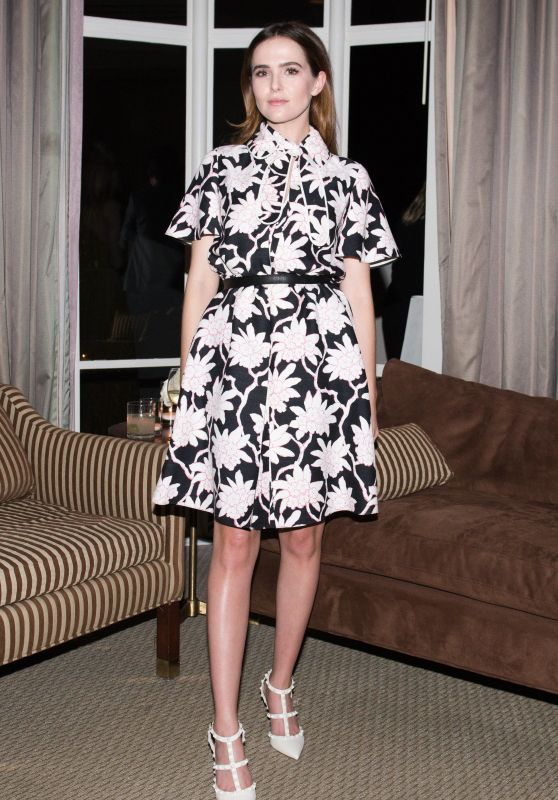 Zoey Deutch – Valentino and InStyle Cocktail Party in Los Angeles