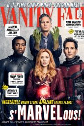 Actors of Marvel - Vanity Fair Magazine December 2017 - January 2018