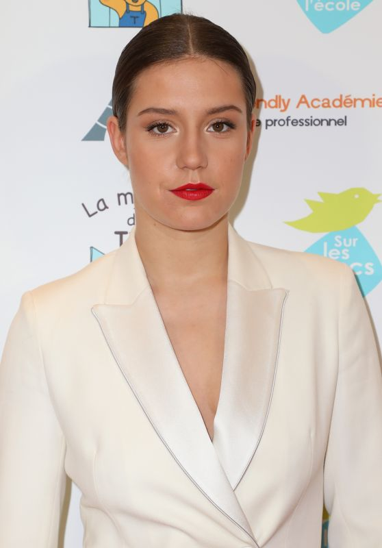 Adele Exarchopoulos - Autism Charity Gala in Paris