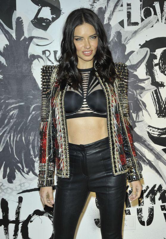 Adriana Lima – VS Fashion Show and the new VS X Balman NYC