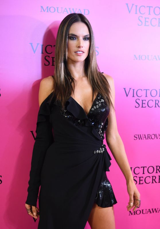 Alessandra Ambrosio – Victoria's Secret Fashion Show After Party in Shanghai 11/20/2017