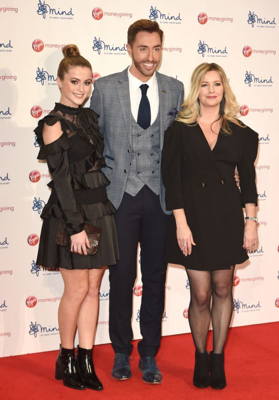 Alex Fletcher and Lauren McQueen – Virgin Money Giving Mind Media Awards 2017 in London