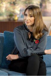 Alex Jones - This Morning TV Show in London 11/03/2017