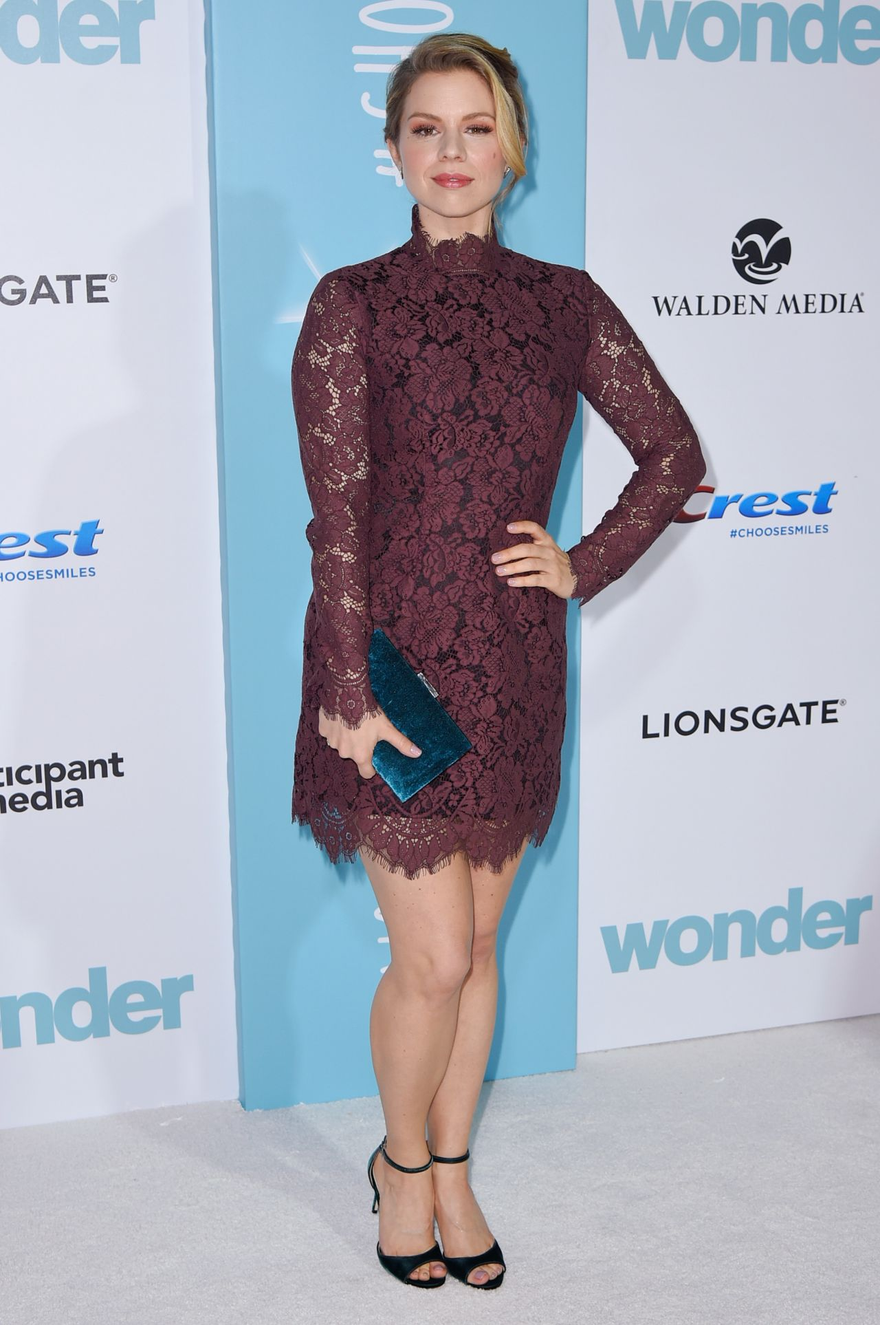 Ali Liebert Wonder Premiere In Westwood