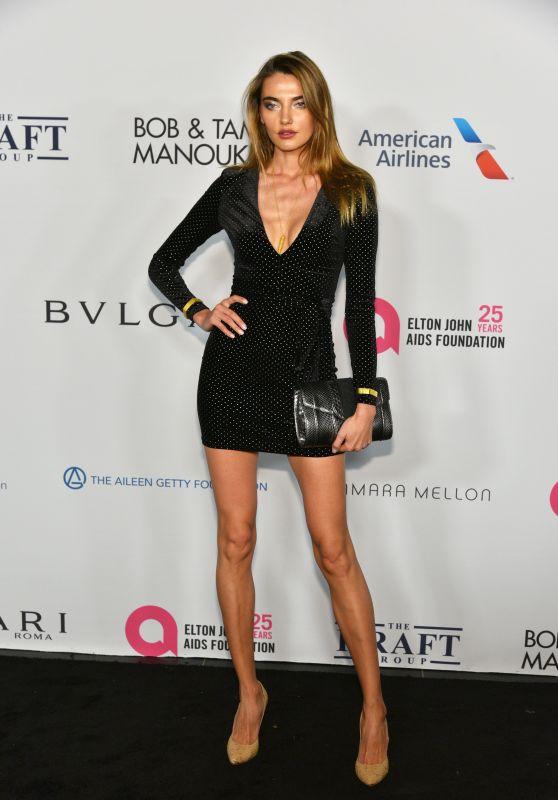 Alina Baikova – Elton John AIDS Foundation 25 Year Celebration in NYC