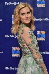 Allison Williams – Gotham Independent Film Awards 2017 in New York