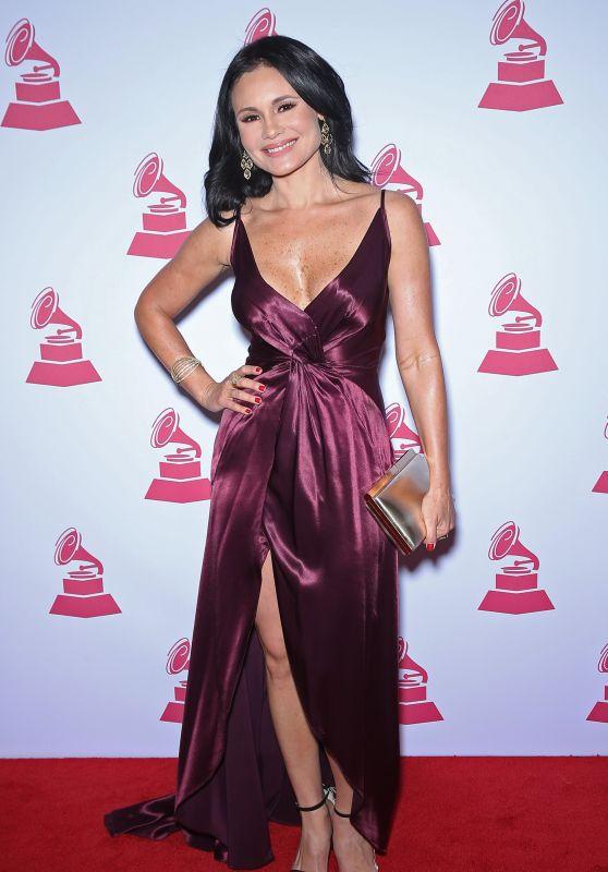 Alvera DeLeon – Latin Recording Academy Person of the Year in Las Vegas 11/15/2017