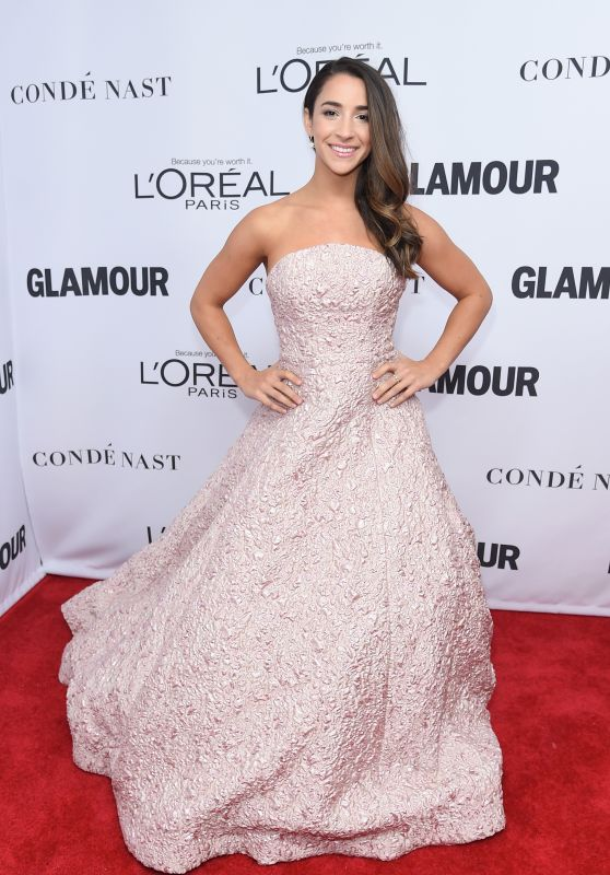 Aly Raisman – Glamour Women of the Year 2017 in New York City