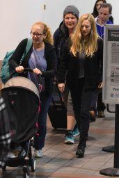 Amanda Seyfried at LAX Airport 11/27/2017