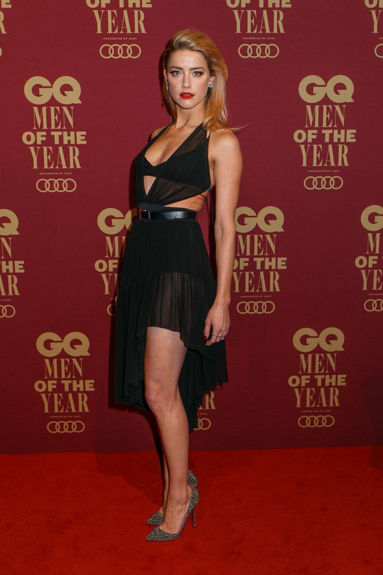 Amber Heard 2017 Gq Men Of The Year Awards In Sydney
