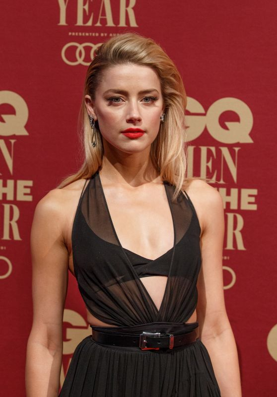 Amber Heard – 2017 GQ Men Of The Year Awards in Sydney