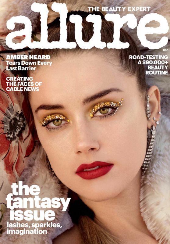 Amber Heard - Allure Magazine December 2017 Issue