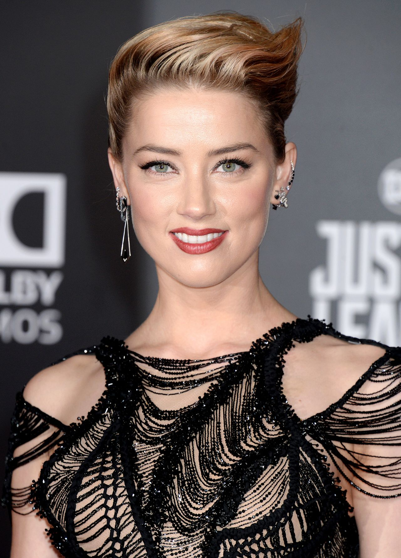 "Amber Heard – ""Justice League"" Red Carpet in Los Angeles Amber Heard"