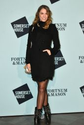 Amber Le Bon – Skate at Somerset House Launch Party in London 11/14/2017