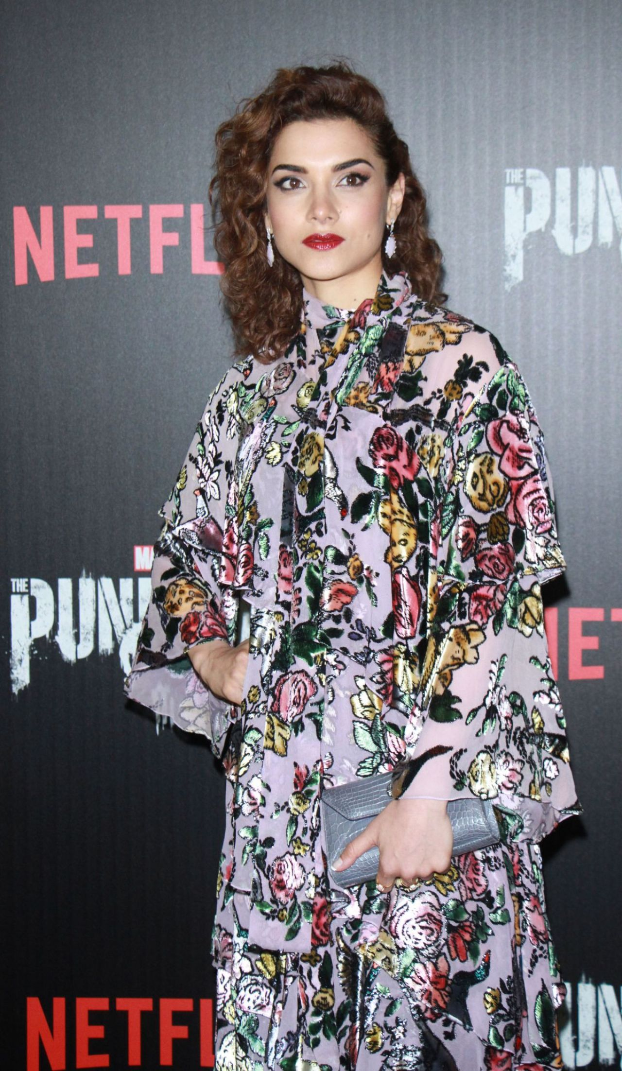 Amber Rose Revah Marvel S The Punisher Premiere In New