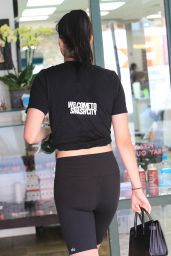 Amelia Gray Hamlin in Workout Gear - Heads to a Salon in Beverly Hills  11/13/2017